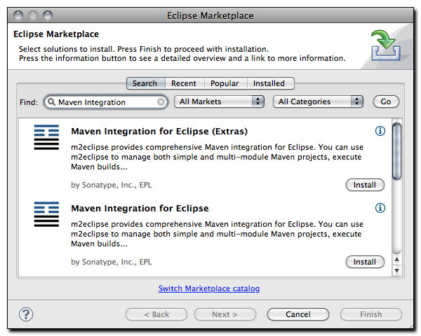 Mvn Eclipse Plugin