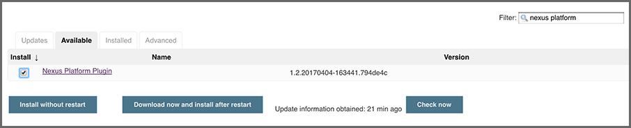 nexus plugin download
