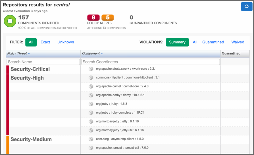 Nexus Documentation - Nexus IQ Server 1 30 - Sonatype com